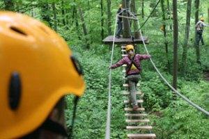 (c) Der Kletterwald Schwindelfrei in Brühl