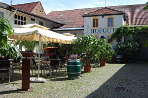 Erlesene Speisen im Hogut genießen (c) Hofgut Restaurant in Gönnheim