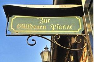 """Ein historischer Gasthof (c) Restaurant """"Güldene Pfanne"""" in Havelberg"""