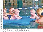Babyschwimmen im Hallenbad Weida