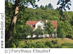 Forsthaus Klaushof bei Bad Kissingen