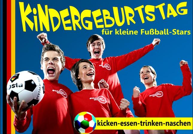kindergeburtstag in der soccerworld in berlin mamilade. Black Bedroom Furniture Sets. Home Design Ideas