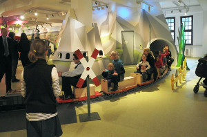 KIBALA - Minibahn im DB Museum Nürnberg (c) DB Museum im Verkehrsmuseum Nürnberg