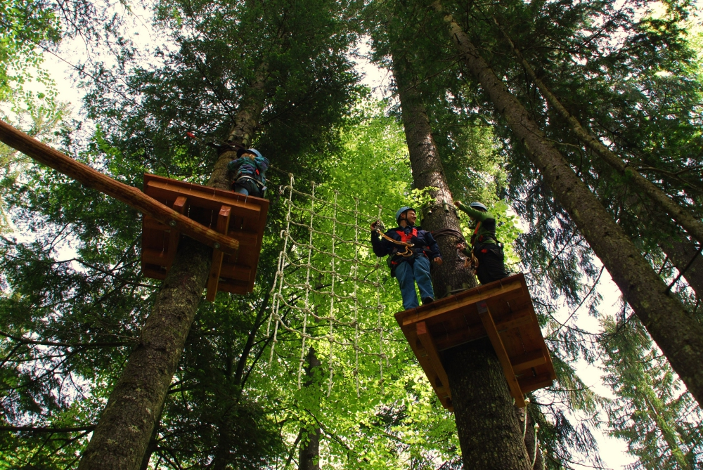 Kletterwald Reit im Winkl