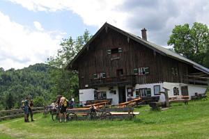 Höllenbachalm Weißbach
