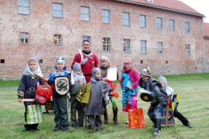 Die kleinen Ritter – Kindergeburtstag auf der Burg Storkow