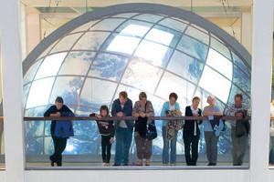 Familie im Übersee-Museum Bremen