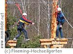 Fläming-Hochseilgarten