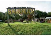 Blick auf den Abenteuerspielplatz Eversten in Oldenburg