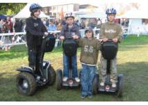 Kindergeburtstag auf dem Segway-Parcour in Bad Saarow