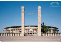 Das Olympiastadion in Berlin erkunden
