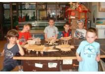 Kindergeburtstag in den Lern- und Erfinderwerkstätten in Berlin