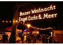 """Weihnachtsmarkt """"Engel, Licht & Meer"""", © Kurverwaltung Ostseebad Binz"""