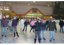 Kindergeburtstag in der Eissporthalle in Bitburg