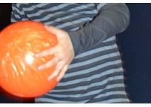 Bowling-Kugel orange