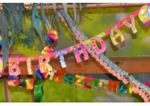 Birthday-Deko