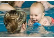 Babyschwimmen und -sauna in der Lagune in Cottbus
