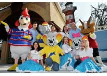 Die Euromaus und ihre Freunde im Europapark Rust