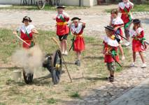 Kindergeburtstag bei den Festungsspielen in Schloss und Festung Senftenberg