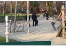 Spielplatz am Mainufer in Frankfurt