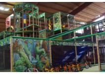 Kletterlandschaft im Funpark Trossingen