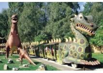 Dinosaurier im Freizeit-Land Geiselwind