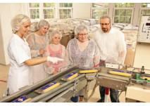 Gläserne Produktion bei Teigwaren Riesa