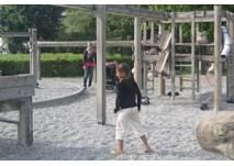 Spielplatz am Taubenbrunnen in Halle Neustadt