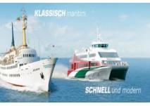 Per Schiff nach Helgoland