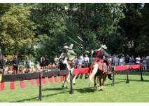 Mittelalterliche Spektakulum mit Ritterturnier in Angelbachtal