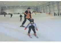 Skihalle im Snowtropolis in Hörlitz, © snow+active GmbH