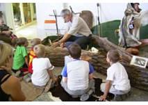 Kindergeburtstag im Indianermuseum Bretten
