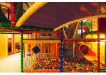 Indoor-Spielplatz im Familienrestaurant KiiWii in Berlin