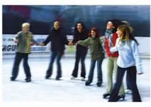 Eislaufen in der Sparkassen Arena Jonsdorf(c) Sparkassen Arena Jonsdorf