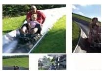 Kindergeburtstag Sommerrodelbahn in Kaisersbach