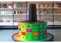 Blick in die kibi - die Kinderbibliothek Hamburg