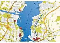 Küstenerlebnispfad: Der blaue Weg in Kiel