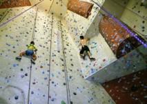 Klettern im Sportpark-West