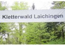 Banner Kletterwald Laichingen