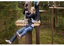 Kindergeburtstag im Kletterwald Weiherhof (c) Kletterwald Weiherhof