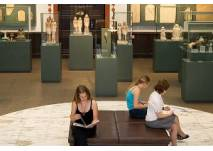 (c) Ägyptisches Museum Leipzig; Blick in die Große Halle