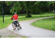 Radtour durch den Auwald