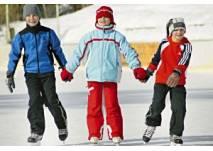 Eislaufen in Lermoos- Tiroler Zugspitz Arena