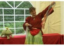 Elke Keck als Geschichtenerzählerin