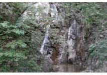 Wasserfälle und Wald