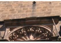Teil einer Renaissance-Fassade
