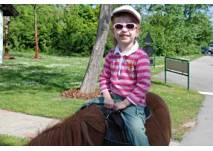 Ponywanderung in Leithen