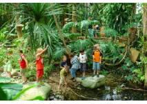 Kindergeburtstag in der Biosphäre Potsdam