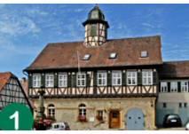 Stadtlehrpfad Waldenbuch Startpunkt Rathaus (c) Stadt Waldenbuch