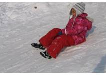 Wintersport in der Rhön auf der Wasserkuppe